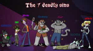 The 7 Deadly Sins by TheArgoNinja