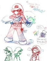 Mario: -SONG- Hot 'n Cold by saiiko