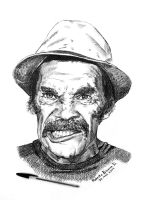 Don Ramon by RobertoBizama