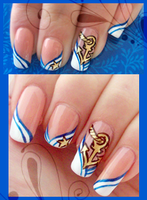 Nail art 132 by ChocolateBlood