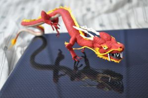 Red Chinese Dragon 2 by Angelpedia