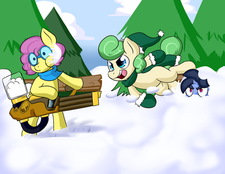 A Bit Of Winter Fun by ZaneZandell