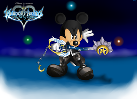 BBS King Mickey wall by ArlekOrjoman