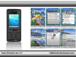 Sony Ericsson Theme ver.4.7 by h3llb3nd4