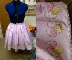 Lolita skirt - first try? by Pan-Pan