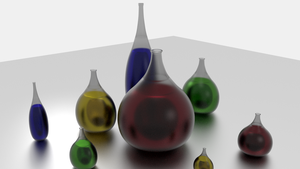 Glass Jugs in Blender Cycles by Dr-Pen