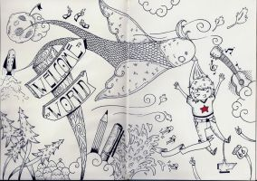 welcome to my moleskine world by math-r