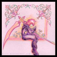 KH - In the garden of...pink. by 8-13