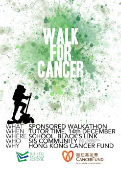 Walk for Cancer Poster 2 by dominicf