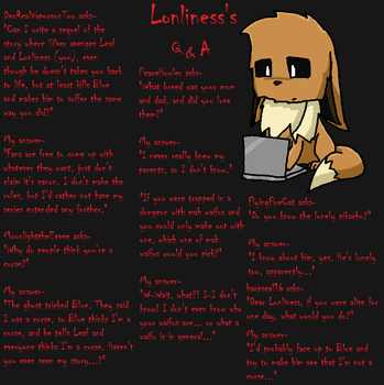 Lonliness's Q and A Page 21 by lonlinessplz