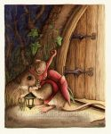 The Doormouse by WildWoodArtsCo