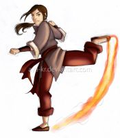 New Firebender OC by AyA-KR