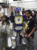 London MCM Expo - Transformers Soundave Cosplayer by DoctorWhoOne