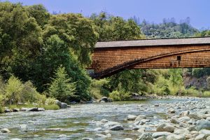 Bridgeport Bridge I, South Yuba River State Park by M-Lewis