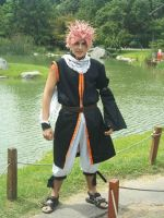 Natsu dragneel cosplay by Azofighter