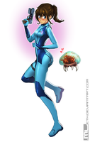 Zero Suit Brooke by MLeth