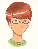 Guy with Glasses by tori96