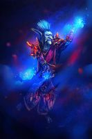 Troll Mage by mary-petroff