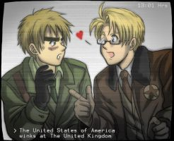 Hetalia - 13:01 hrs US x UK by TechnoRanma