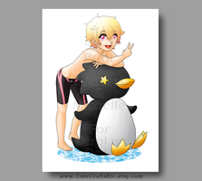 Nagisa the Penguin by MyFebronia