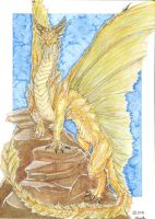 Golden Dragon by Maylara
