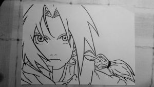 Edward Elric by davidrume147