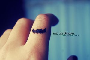 365: 42. I feel like Batman. by KimChev