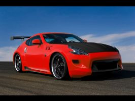Nissan 370Z - Wallpaper by Dj-HeAt