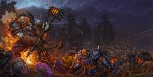 World of Warcraft Warlords of Draenor Box Art by Arsenal21