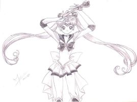 Super SailorMoon by fmacedo