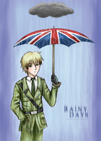 APH - Rainy Days by Mosrael-the-Waker