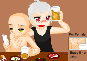 Prussia X Person Collab by ChildoftheBlankPage