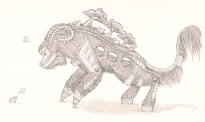 SotC - Fan Colossus by ShadOBabe