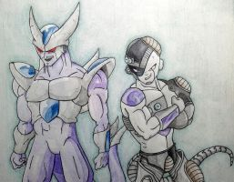 King Cold and Mecha Frieza by RanCh000