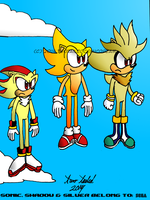 RQ: Three Super Hedgehogs! by TwoTailedComicDream
