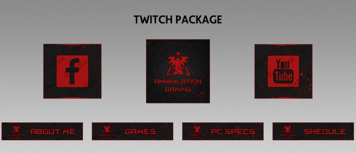 Twitch Bundle - AnnihilaTion by Valixx