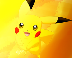 Cute Pikachu by AnimatorMX