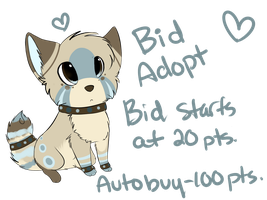 Bid Adoptable +CLOSED+ by sherbi