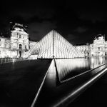 Paris - Pyramid of Light by xMEGALOPOLISx