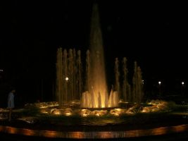 Night Fountain by Furious-P