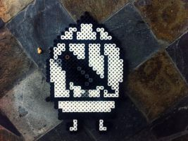 Perler Bird cage. by GeneralHound