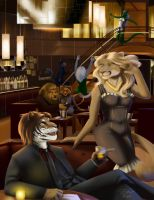 Commission - Bar by ralloonx