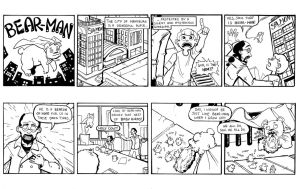 Bear-Man Strip 01 by Trevor-Verges