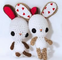 Kawaii Bunny Pattern 1 by candypow