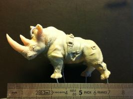 zombified Rhinoceros size by The-Small