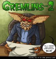 Gremlin Brain by Garvals