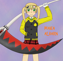 Maka In Soul's Jacket by BennyToursProd