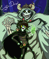 OC Jord the Lich Prince by EmilysDiary