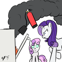 Speed Drawing - Bad Cooks by HalflingPony