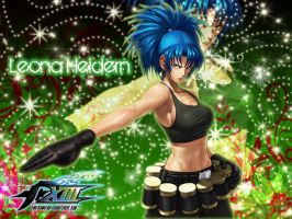 leona Heidern WALLPAPER by chmosca
